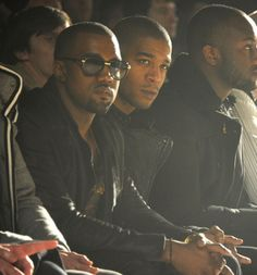 Kanye West and Kid Cudi. I would give so much to sit next to those two.