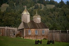 Fort Ross State Park, CA, Russian church