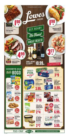 Lowes Weekly Ad December 26 - 29, 2015 - http://www.olcatalog.com/grocery/lowes-weekly-ad-circular.html