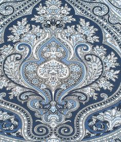 Ralph Lauren Ashbourne Paisley Blue Fabric
