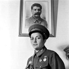Major Lyudmila Pavlichenko, the most successful female sniper in history.