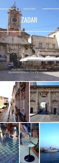 Backpacking in Zadar in Dalmatien, dem Süden von Kroatien. Unser Guide zeigt dir die schönsten Sehenswürdigkeiten in der Altstadt und gibt praktische Tipps für deinen Urlaub. Ob Unterkunft oder leckeres Restaurant mit typischem kroatischen Essen: unser Re