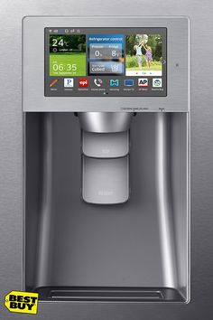 Refrigerators are no longer just a home to magnets, invitations and children's drawings. With LCD screens displaying apps, convertible compartments for optimal freshness, and the ability to interact with your phones, your new fridge might just be the most innovative piece of tech you own. When it comes to buying a new fridge at Best Buy, be smart and go smart.