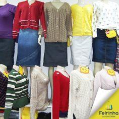 Malhas de todos os modelos, você encontra aqui na Feirinha da Concórdia! Olha o frio gente!   #Inverno #FeirinhadaConcórdia #Malhas #Fashion #Moda