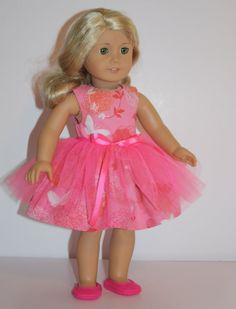 American Girl Pink Tutu Ballerina Dress Fits 18 inch Dolls 8dec898a37a9