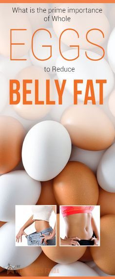 Do not let this fear that 'eggs increase your belly fat' haunt you anymore.  : #nutrition