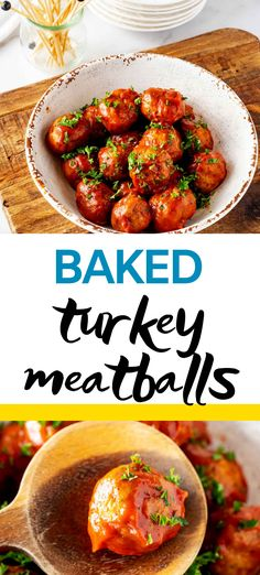 Meatballs without the carbs? Count me in! This Baked Turkey Meatballs recipe is every bit as good as the original. Perfectly tender meatballs in a tangy sauce will keep you coming back for more. #kickingcarbs #ketoairfryer #easyrecipes #ketodinnerrecipes #airfryermeatballs #ketorecipes Lunch Recipes, Easy Dinner Recipes, Real Food Recipes, Keto Recipes, Breakfast Recipes, Steak Recipes, Bbq Turkey, Perfect Food, Keto Dinner
