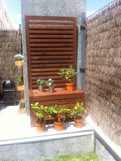 Celos as de jard n en pinterest pantallas privacidad al for Celosia madera ikea