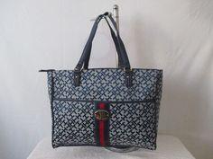 Tommy Hilfiger Handbag Tote Color Blue 6932616 471 Retail Price $ 99.00 #TommyHilfiger #TotesShoppers