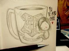 AmoCafe_Desenho de um garoto solitario