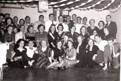 Happy 2015! This New Year party photo is of the Mansell family & friends taken on January 1st, 1951 - 64 years ago! Original: http://www.ancientfaces.com/photo/mansell-new-years-party/887578