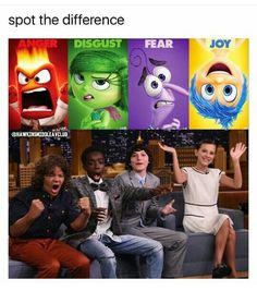 They're the same picture? Stranger Things Funny, Stranger Things Have Happened, Starnger Things, Stranger Danger, Chiste Meme, Mouth Breather, Perfect Match, El Humor, It Cast