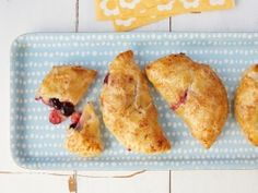 Apple and Blueberry Hand Pies from CookingChannelTV.com