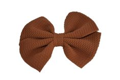 "Light Brown Nylon Fabric Pinwheel 4"" Bow Bow Light, Pinwheel Bow, Handmade Hair Bows, Pinwheels, Gifts For Girls, Great Gifts, Super Cute, Purple, 3 Years"
