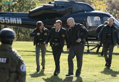Max Hardy (Jessica Stroup)  Ryan Hardy (Kevin Bacon ) and Mike Weston (Shawn Ashmore)The Following Season 3