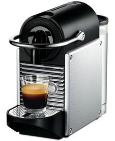 Nespresso Pixie Espresso Maker by De'Longhi, Aluminum - Silver