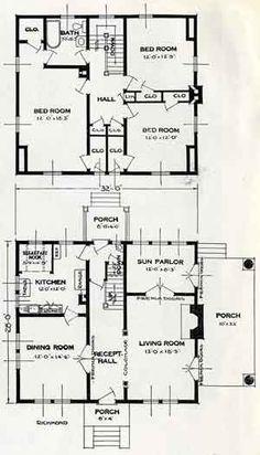 1926 Standard House Plans: The Richmond