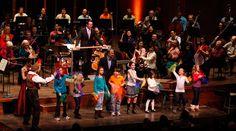 Muzică clasică ! concerte on-line pentru copii răciți | o listă în formare