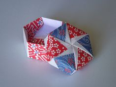 Origami Maniacs: Tomoko Fuse´s Origami Hexagonal Box by Tomoko Fuse
