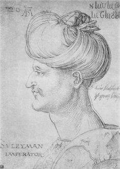Sultan Soliman - Albrecht Durer