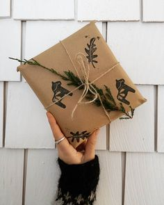 Brown paper packages tied up with string ❤ packaging up card orders this morning with sufjan Stevens ❤ 💕 #handmade #giftwrapping #handemadestamps