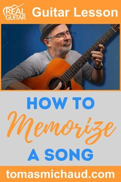 Do you want to learn how to memorize songs on guitar quickly and easily? Memorizing songs is an essential part of playing guitar. Whether you're in a band or playing at home, it's important to learn songs all the way through and play them from memory. In this guitar lesson, I'm going to give you a step-by-step method of how I learn and memorize a song on the guitar. Then I will give you some extra tips on how to learn a song on the guitar. #learntoplayguitar #songsonguitar Play Guitar Chords, Learn Acoustic Guitar, Learn To Play Guitar, Guitar Songs, Guitar Online, Blues Scale, Guitar Lessons For Beginners, Guitar Tutorial, Guitar Tips