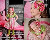 Made to match Sweetiebirds Valentine outfit Chunky Necklace for girls