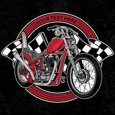 Design Logo Club Motorcycle