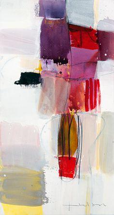Greet Helsen, Grenzenlos. Acrylic on canvas.