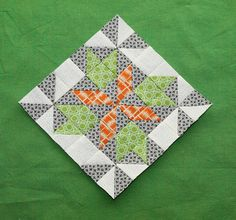 Four Winds - Block 38 in the Farmer's Wife Quilt Along -- I love this version!!