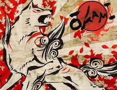 Okami Amaterasu Design by KyleRobinsonCustoms