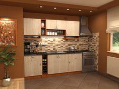 Organizeaza-ti bucataria intr-un mod inteligent! Kitchen Cabinets, Home And Garden, Table, House, Furniture, Home Decor, Kitchen Ideas, Exterior, Bath