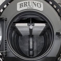 This is a picture of the Bruno Woodburning Stove Bruno firebox
