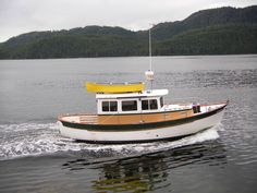 Double end power boats?-