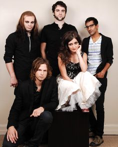 Picture of Flyleaf — Edited and converted to PNG for better library look.