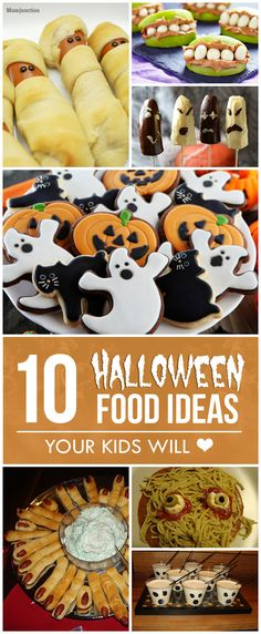 making halloween party trays out of food out our week of - halloween party food ideas for kids