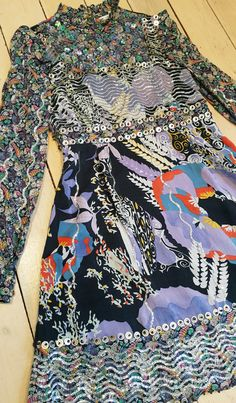 & Other Stories (H&M Group) Ditzy Frill Floral Beaded Sequin Dress 6 8 10 12 14   eBay
