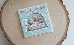 Unify Handmade: Lawn Fawn Inspiration Week--Ready, Set, Snow | let it snow
