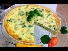 Como Fazer: Quiche de Brócolis # Delicia vegetariana - YouTube