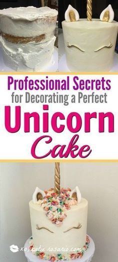 How to make a magical unicorn cake easy step by step guide. How to Make a Magica. How to make a magical unicorn cake easy step by step guide. How to Make a Magical Unicorn Cake: I l How To Make A Unicorn Cake, Easy Unicorn Cake, Unicorn Cake Topper, Unicorn Party, How Make Cake, Unicorn Rainbow Cake, Unicorn Cake Design, Cake Rainbow, Unicorne Cake