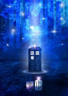 Doctor Who Tardis.