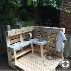 Stylish pallet furniture patio ideas that actually makes sense. The post Splendid DIY Pallet Furniture Ideas (Chair, Table, Bed, Benches, etc) You Should Try appeared first on Best Pins for Yours. Kids Outdoor Play, Outdoor Play Spaces, Backyard For Kids, Outdoor Fun, Outdoor Decor, Pallet Patio Furniture, Outdoor Furniture Sets, Furniture Ideas, Furniture Stores