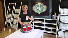 How To Paint Furniture :  Getting An Ultra Smooth Finish with Chalk - Ty...