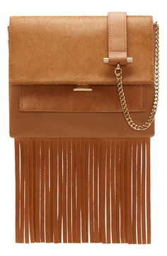 Vince Camuto 'Amele' Crossbody Bag, available at #Norstrom, contains fringe representing falling leaves of this season.