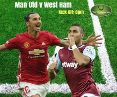 Paul Pogba and Marouane Fellaini are set to miss out on Manchester United's EFL Cup quarter-final clash with West Ham tonight Kick Off: 8pm Come in and join us for all the action.. #thewoodmaninn #forestofdean #westham #manutd #football www.thewoodmanparkend.co.uk