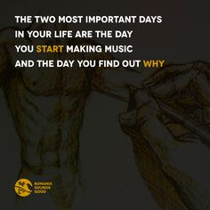 The two most important days in your life are the day you start making music and the day you find out why  #romania #music #techno #electronica #micro #house #romaniasoundsgood