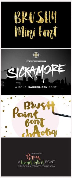 Pretty Awesome Fonts