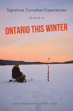 Overcome cabin fever this winter in Ontario by partaking in some of these iconic Canadian experiences. Winter Light Festival, Canadian Winter, Canadian Rockies, Polar Express Train, Ontario Travel, Helicopter Tour, Ice Climbing, Cabin Fever, Canada Travel