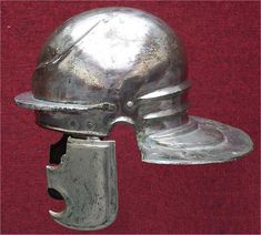 The Imperial helmet-type (known as the Weisenau type in Germany) was a type of helmet worn by Roman legionaries; it replaced the Coolus type, and constituted the final evolutionary stage of the legionary helmet