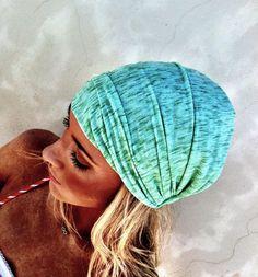 Head Wrap Headband Slub T-Shirt Jersey Headband Soft Heathered Stretchy turbans hair covering for chemotherapy hair loss wrap. $22.50, via Etsy.